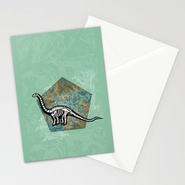Brachiosaurus Fossil Stationery Cards
