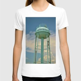 Tower And Clouds T-shirt
