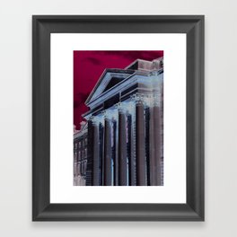 Shapes of Trinity College Framed Art Print