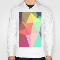 shapes Hoodies featuring peace by contemporary