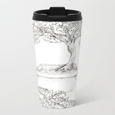 Ginkgo Tree Metal Travel Mug