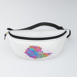 Ethiopia Map Fanny Pack