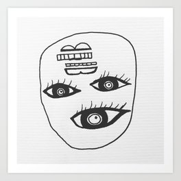 my eyes have seen you Art Print