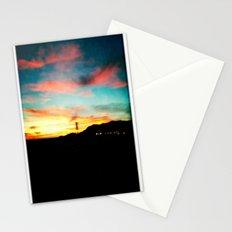 High Desert Sunset Stationery Cards