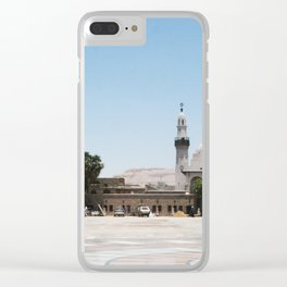 Temple of Luxor, no. 19 Clear iPhone Case