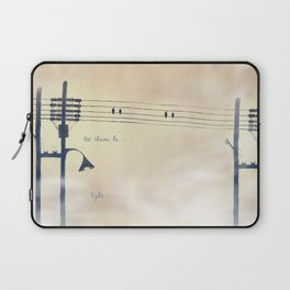 Let there be light... Laptop Sleeve