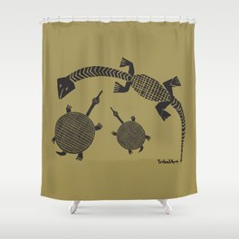 TribalArt Shower Curtain