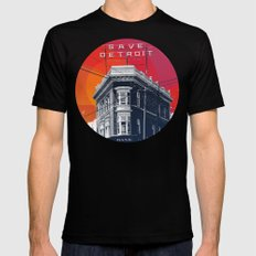 Save Detroit Mens Fitted Tee Black SMALL