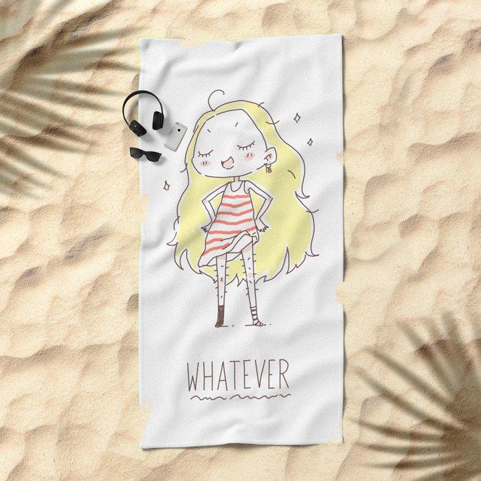 Whatever Beach Towel