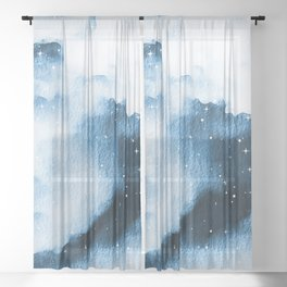 Dont Hide Under Me Sheer Curtain