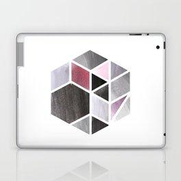 Watercolor Hexagone Laptop & iPad Skin