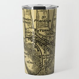 French Palmistry Travel Mug