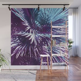 Lost in the wild - Tropical Palm leaves #tropicalart #buyart #Society6 Wall Mural