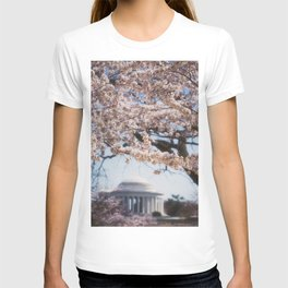 Washington DC in Bloom T-shirt