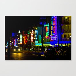 neon city Canvas Print