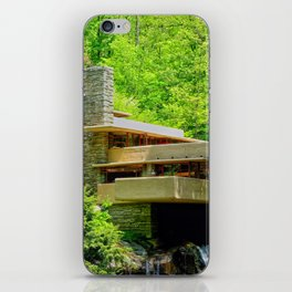 Frank Lloyd Wright | architect | Fallingwater iPhone Skin