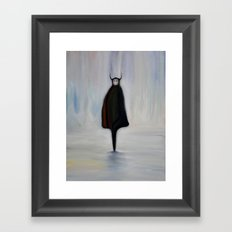Friendly Nomad Framed Art Print