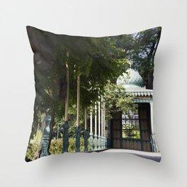 German Garden Throw Pillow