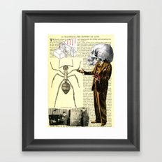 43 Years A Slave  = Bye, Bye Framed Art Print