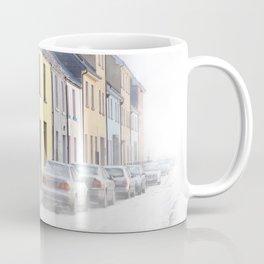 Winter Fog On The Long Walk In Galway Ireland Coffee Mug