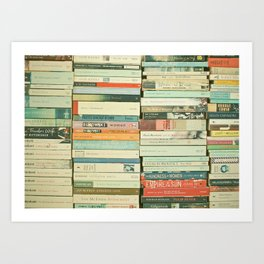 Bookworm II Art Print