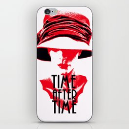 Time After Time Rouge iPhone Skin