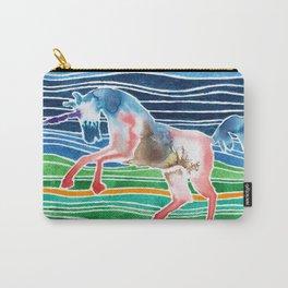 Unicorn - Licorne - Unicornio - Einhorn Carry-All Pouch