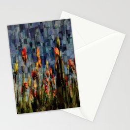 Champ de Tulipes Mosaïque Stationery Cards
