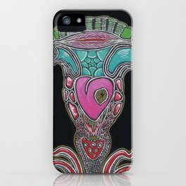 Fertility trip art iPhone Case