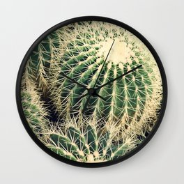 Cactusss Wall Clock