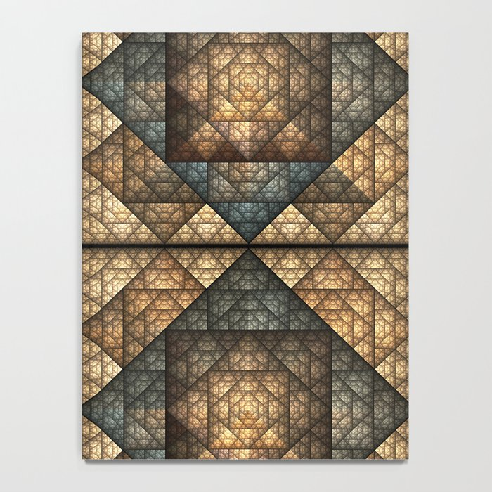 Church Window Pattern Notebook