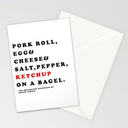 South Jersey Breakfast Stationery Cards