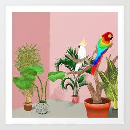 Botanical Paradise Art Print