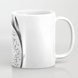 Black and White Dragon Fruit Coffee Mug