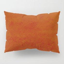 concrete orange brown copper plain texture Pillow Sham