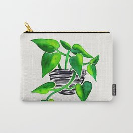 Philodendron Plant Carry-All Pouch