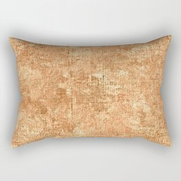 Peach Cobbler Oil Painting Color Accent Rectangular Pillow