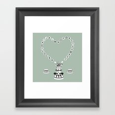 ABC CIRCUS Framed Art Print