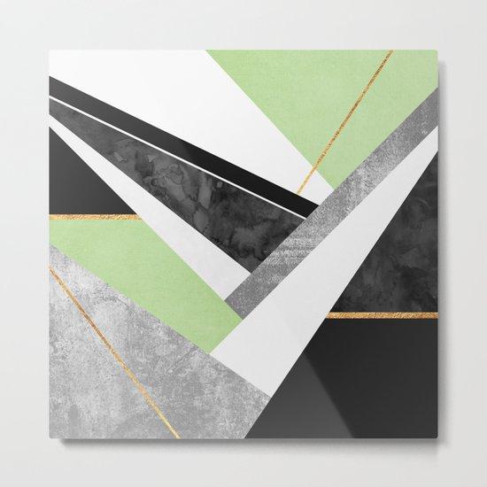 Lines & Layers 1.3 Metal Print