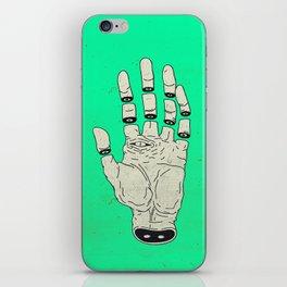 THE HAND OF DESTINY / LA MANO DEL DESTINO iPhone Skin