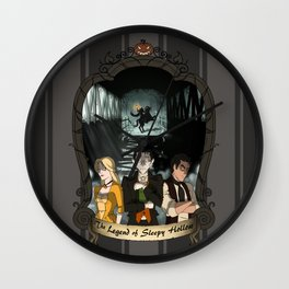 Poster: The Legend of Sleepy Hollow Wall Clock