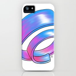 Night Sky Ring iPhone Case