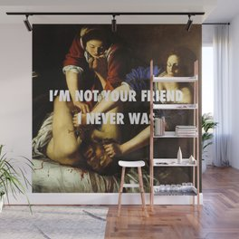 Judith Stopping Holofernes Wall Mural