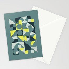 Mid Century Geometric 09 Stationery Cards