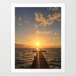 Grand Cayman Sunrise Art Print
