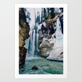 Johnston Canyon Pt.2 Art Print