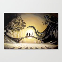 The Tale of the Three Brothers Canvas Print