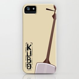 Kubo and the Two Strings - Shamisen iPhone Case