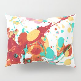 Paint Party 2 Abstract Pillow Sham