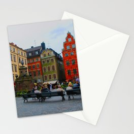 Stortorget Square in Gamla stan - Stockholm Stationery Cards